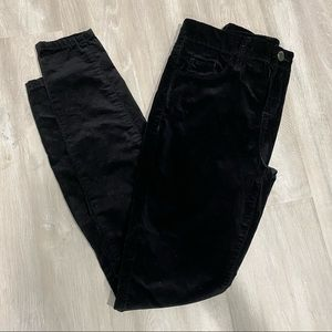 """Blank NYC Velour Skinny Jeans - """"crybaby"""""""